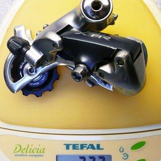 Gewicht Shimano Schaltwerk XTR RD-M900 Short Cage