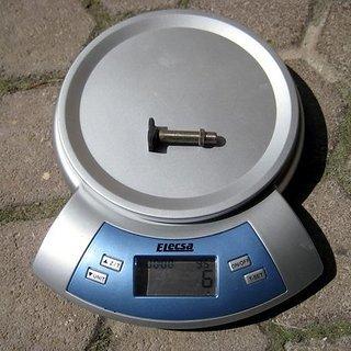 Gewicht Schwalbe Weiteres/Unsortiertes AV Tubeless Ventil - Eigenbau AV Ventil