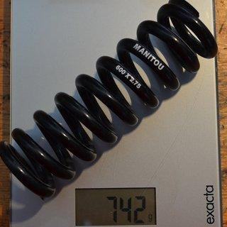 Gewicht Manitou Feder Stahlfeder 600/2,75