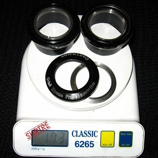 """Gewicht FSA Steuersatz Orbit Xtreme Pro 1.5"""" 1.5"""""""