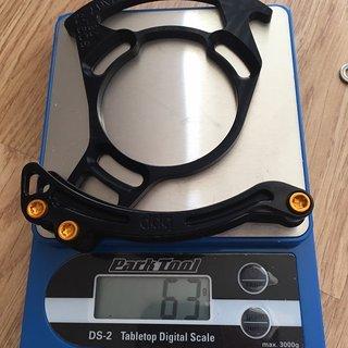 Gewicht bpp Kettenführung 1-fach Kettenführung Enduro (mit Bashguard) 28T
