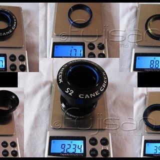 Gewicht Cane Creek Steuersatz S2 EC34/28.6, EC34/30