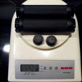 Gewicht No-Name Griffe Lock-On 130mm