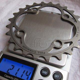 Gewicht Carbon Ti Kettenblatt X-Ring MTB Full-Ti 64mm, 24Z