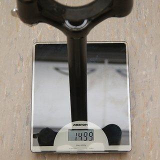"Gewicht Manitou Federgabel Skareb Super 26"", 80mm, 1 1/8"""