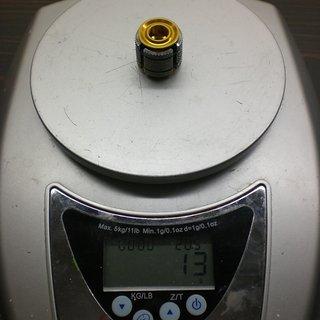 "Gewicht Carbon Ti Ahead-Kralle, Ahead-Expander X-Plug 1 1/8"""