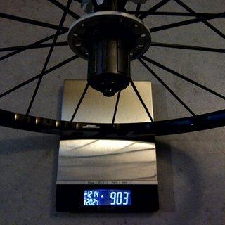 Gewicht Mavic Systemlaufräder Crossmax ST HR, 135mm/QR