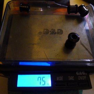 Gewicht Fun Works Kettenblattschrauben Kettenblattschrauben M8x8mm, 4x