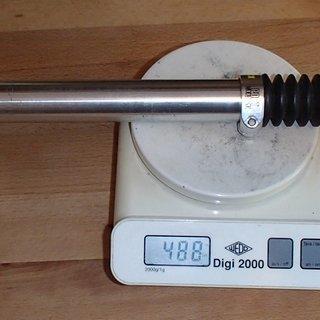 Gewicht Post Moderne Sattelstütze höhenverstellbar Al-Sattelstütze 27,2 x 300mm