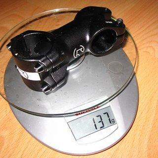Gewicht Pro Parts Vorbau LT 70mm, +/-17°