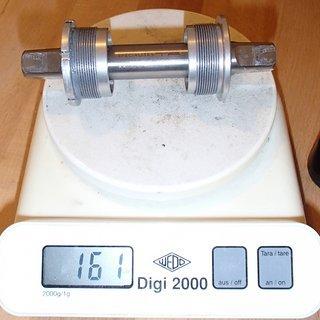 Gewicht Specialites TA Innenlager AXIX Light Pro Titanium 4-kant, 68/122mm, BSA