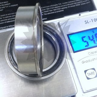 Gewicht BOR Innenlager MTB Bearing Kit BB92 30mm Achse, BB92