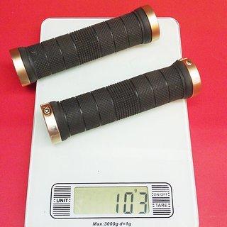Gewicht Rose Griffe Lock-On Grip 128mm