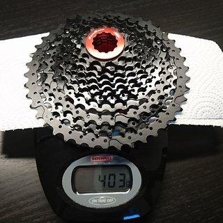 Gewicht Sunrace Kassette CSMX8 11-fach, 11-42