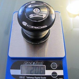 Gewicht Acros Steuersatz AX-15 EC49/28.6, EC49/40
