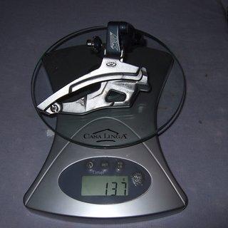 Gewicht Shimano Umwerfer LX FD-M570 31,8mm
