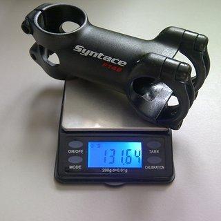 Gewicht Syntace Vorbau Force 149 31.8mm, 75mm, 6°