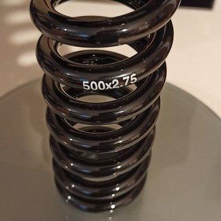 Gewicht DVO Feder Steel Coil Spring 2.75x500