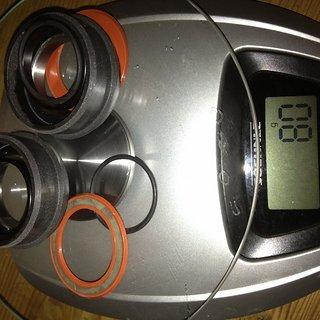 Gewicht BOR Innenlager Smart Spindle System Pressfit 30 PF30
