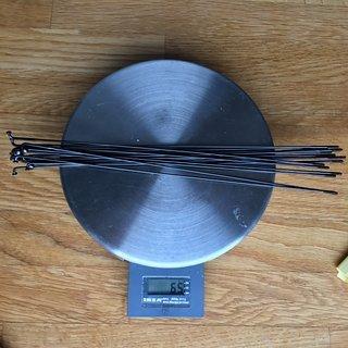 Gewicht Sapim Speiche Laser 247mm, 16 St.