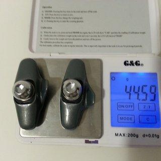 Gewicht Shimano Bremsbelag Ultegra BR 6403