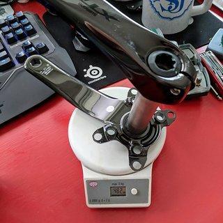 Gewicht Shimano Kurbel XTR Trail FC-M9020-1 170mm