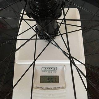 """Gewicht bike-components Systemlaufräder bc original Loamer Disc Center Lock 29"""" Boost Laufradsatz 29"""""""