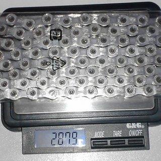 Gewicht Shimano Kette CN-7701 114 Glieder, 9-fach