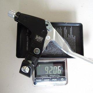 Gewicht Shimano Felgenbremse Acera/Alivio BL-M420 22.2mm