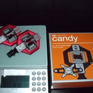 Gewicht Crank Brothers Pedale (Klick) Candy 3