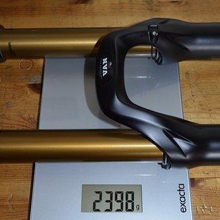 Gewicht Fox Racing Shox Federgabel 36 Van Custom 180