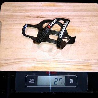 Gewicht Xtreme Flaschenhalter CARBON FIBER CF29