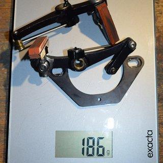 Gewicht MacMahone Felgenbremse MRC Powerlink