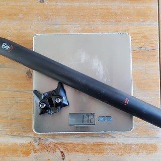Gewicht Ritchey Sattelstütze Superlogic Link Seatpost Flexlogic Carbon 400x30,9 mm
