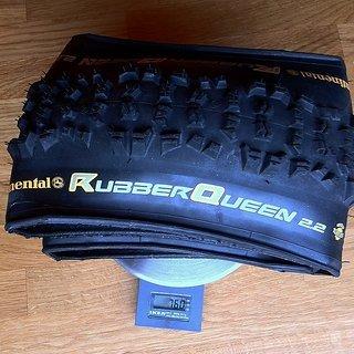 """Gewicht Continental Reifen Rubber Queen UST 26x2.2"""", 55x559"""