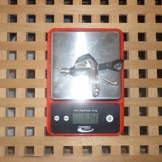 Gewicht Shimano Schalthebel XTR SL-M970 9-fach