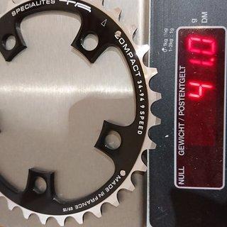 Gewicht Specialites TA Kettenblatt Compact 94mm, 34T