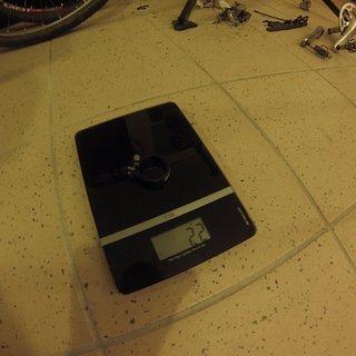 Gewicht Pro Parts Sattelklemme LM 31.8mm