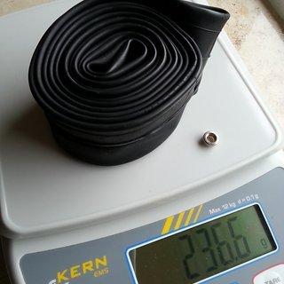 """Gewicht Continental Schlauch MTB 27.5"""" SV/27.5x1.75-2.4"""""""