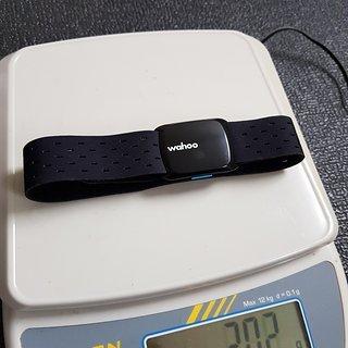 Gewicht WAHOO Alles andere TICKR Fit Herzfrequenz-Armband Armband groß 375 mm x 25,4 mm