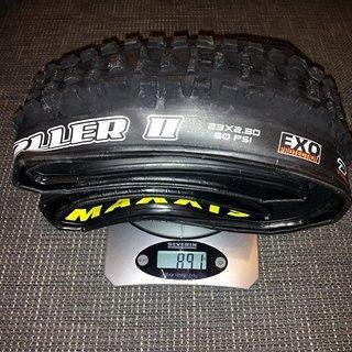 Gewicht Maxxis Reifen High Roller II  29x2,3'', 58-662
