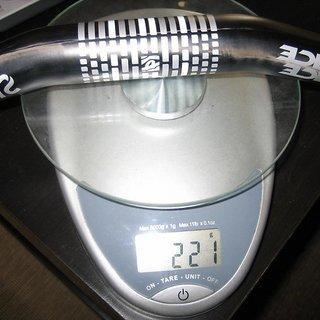 Gewicht Race Face Lenker SIXC ¾ Riser 31.8mm, 725mm