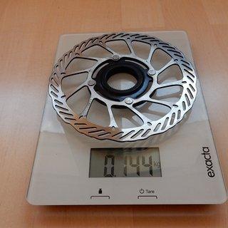 Gewicht Avid Bremsscheibe G3 CleanSweep 160mm