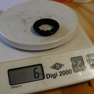 Gewicht Tune Kassettenabschlussring Edelzwicker 11Z