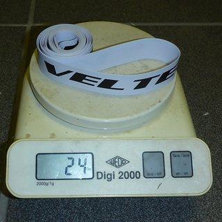 """Gewicht Veltec Felgenband 28/29"""" Felgenband 22mm 29"""" x 22mm"""