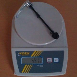 """Gewicht Shimano Schnellspanner DH-3N72 133 (5-1/4"""")"""