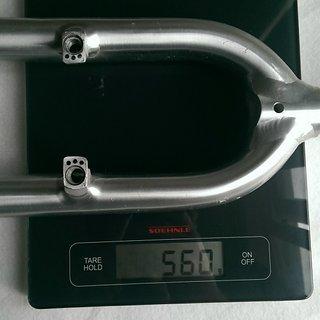 "Gewicht Steinbach Bike Starrgabel Pepperoni V-Brake 26""  1 1/8  220mm"