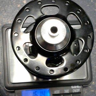 Gewicht Veltec Nabe SL Disc front 100mm/QR, 32-Loch