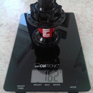 Gewicht DT Swiss Nabe 240s Disc Brake IS Oversize 100mm/QR15, 32-Loch