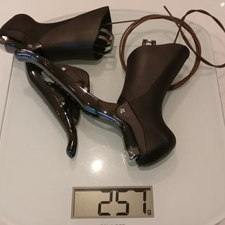 Gewicht Shimano Brems-/Schalthebel-Kombi Dura Ace ST-9070 Di2 Brems-/Schalthebel